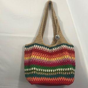 The Sak - Multicolor Crochet Handbag